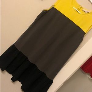 LOFT Colorblock Dress